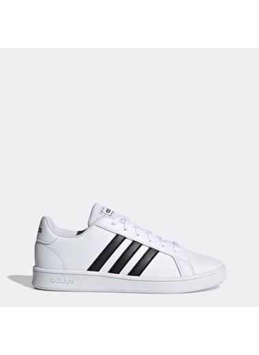 adidas Grand Court K Çocuk Günlük Ayakkabı Ef0103 Renkli